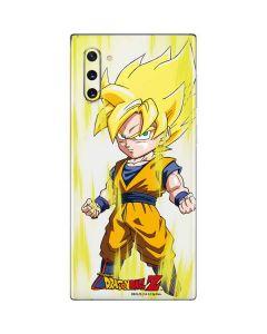 Super Saiyan Galaxy Note 10 Skin