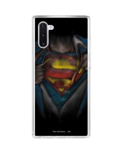 Superman Chalk Galaxy Note 10 Clear Case