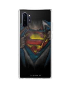 Superman Chalk Galaxy Note 10 Plus Clear Case