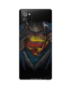 Superman Chalk Galaxy Note20 5G Skin
