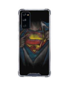 Superman Chalk Galaxy S20 FE Clear Case