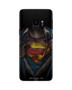 Superman Chalk Galaxy S9 Skin