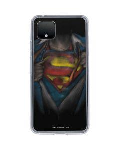 Superman Chalk Google Pixel 4 XL Clear Case