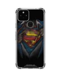 Superman Chalk Google Pixel 5 Clear Case