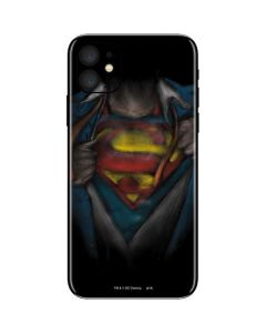Superman Chalk iPhone 11 Skin
