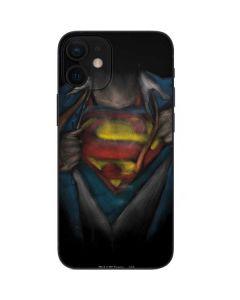 Superman Chalk iPhone 12 Mini Skin