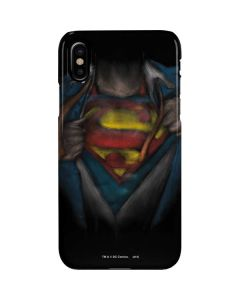 Superman Chalk iPhone XS Max Lite Case
