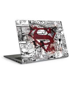 Superman Comic Logo in Red HP Elitebook Skin