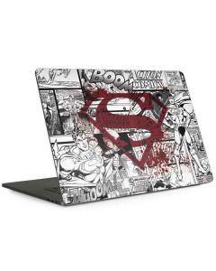 Superman Comic Logo in Red Apple MacBook Pro 15-inch Skin