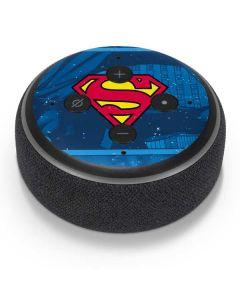 Superman Logo Amazon Echo Dot Skin
