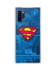 Superman Logo Galaxy Note 10 Plus Clear Case