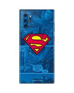 Superman Logo Galaxy Note 10 Plus Skin