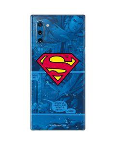 Superman Logo Galaxy Note 10 Skin