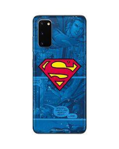 Superman Logo Galaxy S20 Skin