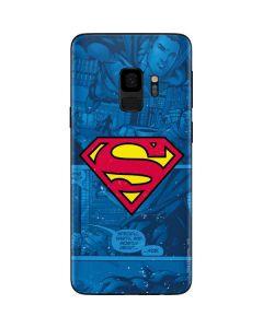 Superman Logo Galaxy S9 Skin