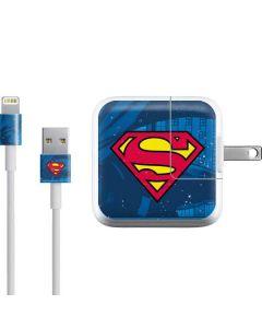 Superman Logo iPad Charger (10W USB) Skin