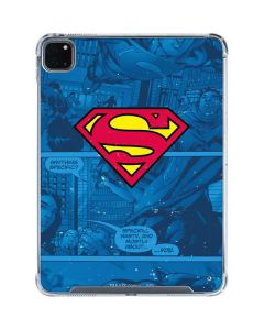 Superman Logo iPad Pro 11in (2020) Clear Case