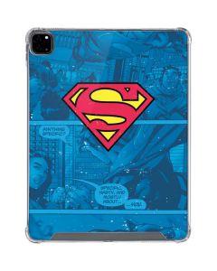 Superman Logo iPad Pro 12.9in (2020) Clear Case