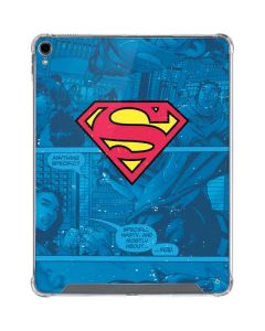 Superman Logo iPad Pro 12.9in (2018-19) Clear Case