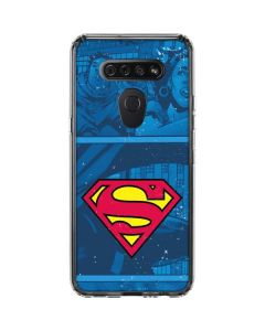 Superman Logo LG K51/Q51 Clear Case