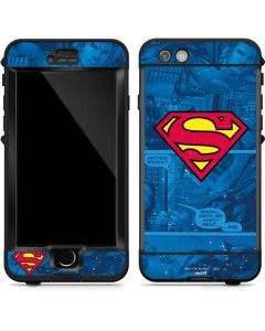Superman Logo LifeProof Nuud iPhone Skin