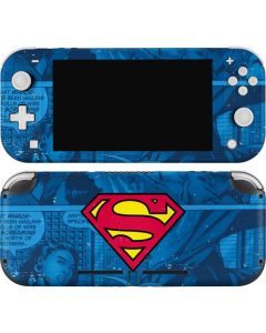 Superman Logo Nintendo Switch Lite Skin