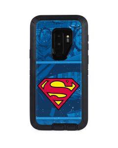 Superman Logo Otterbox Defender Galaxy Skin