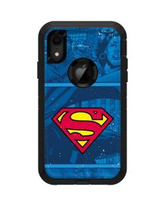 Superman Logo Otterbox Defender iPhone Skin