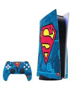 Superman Logo PS5 Bundle Skin