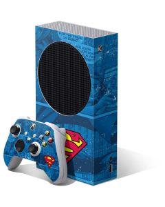 Superman Logo Xbox Series S Bundle Skin