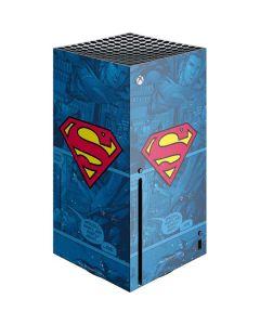 Superman Logo Xbox Series X Console Skin