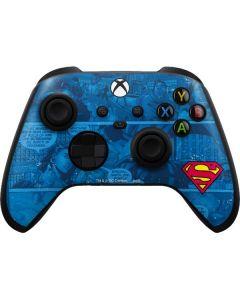 Superman Logo Xbox Series X Controller Skin