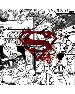 Superman Comic Logo in Red Playstation 3 & PS3 Slim Skin