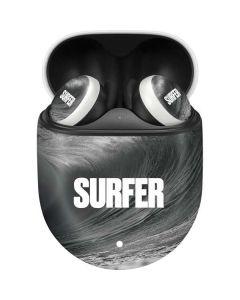 SURFER Black and White Wave Google Pixel Buds Skin
