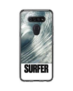 SURFER Magazine Barrel Wave LG K51/Q51 Clear Case