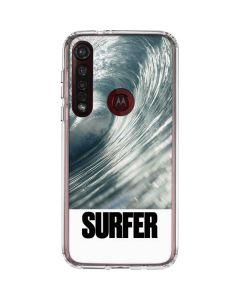 SURFER Magazine Barrel Wave Moto G8 Plus Clear Case