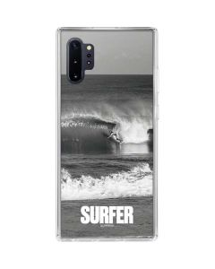 SURFER Magazine Black and White Galaxy Note 10 Plus Clear Case