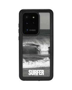 SURFER Magazine Black and White Galaxy S20 Ultra 5G Waterproof Case