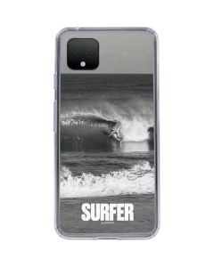 SURFER Magazine Black and White Google Pixel 4 Clear Case