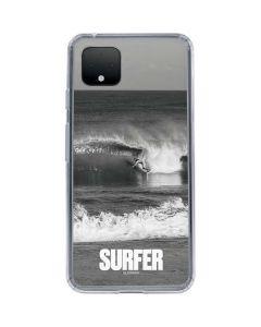 SURFER Magazine Black and White Google Pixel 4 XL Clear Case