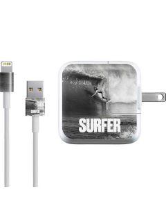 SURFER Magazine Black and White iPad Charger (10W USB) Skin