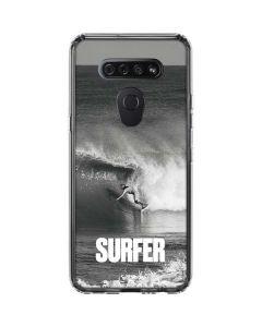SURFER Magazine Black and White LG K51/Q51 Clear Case