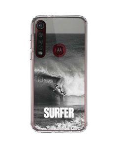 SURFER Magazine Black and White Moto G8 Plus Clear Case