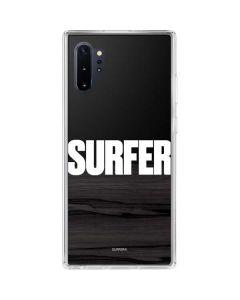 SURFER Magazine Bold Galaxy Note 10 Plus Clear Case