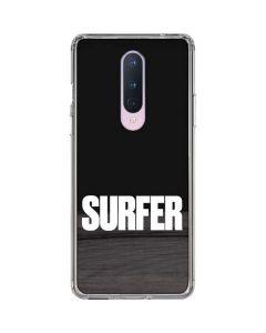 SURFER Magazine Bold OnePlus 8 Clear Case