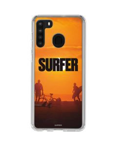 SURFER Magazine Group Galaxy A21 Clear Case