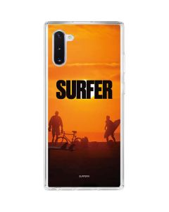 SURFER Magazine Group Galaxy Note 10 Clear Case