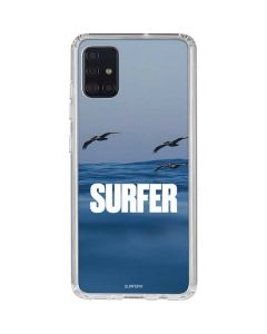 SURFER Magazine Pelicans Galaxy A71 Clear Case
