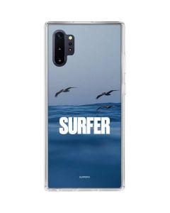 SURFER Magazine Pelicans Galaxy Note 10 Plus Clear Case
