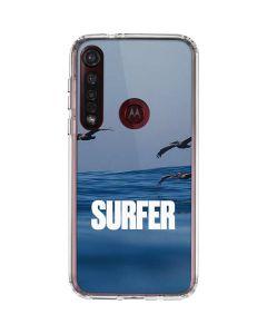 SURFER Magazine Pelicans Moto G8 Plus Clear Case
